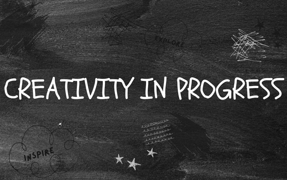 graphic reads creativity in progress